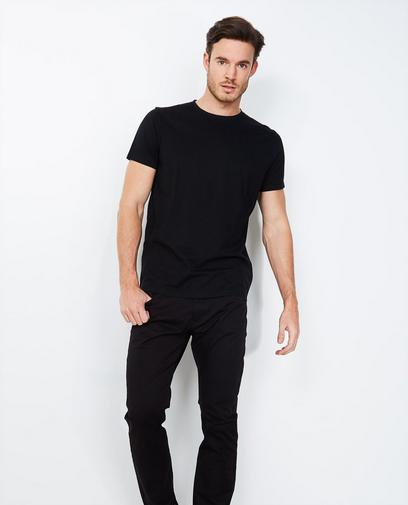 Basic slim fit broek